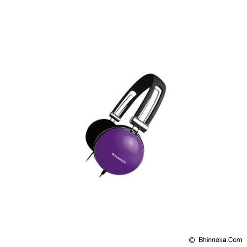 ZUMREED Color Headphone [ZHP-005 Color] - Violet - Headphone Portable
